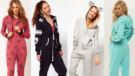 5a7f7126002e Женская пижама-комбинезон (39 фото): женские модели для девушек ...
