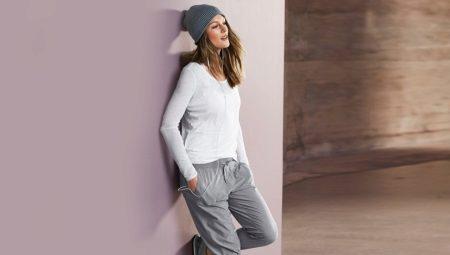 0bab0ab3 Серые спортивные штаны (94 фото): с чем носить женские штаны серого ...