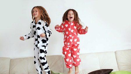 e1f4ebd1de8df Теплая детская пижама для девочки (56 фото): с начесом, утепленная ...