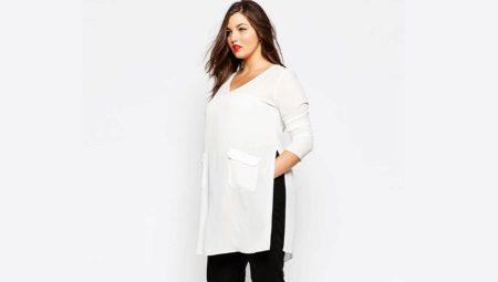 6a1e50cd785 Туника для полных женщин (186 фото)  красивые и модные туники 2019 ...