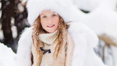 Детские шубы для девочек из натурального меха