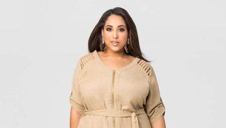 3c361e08e307a9d Льняные платья и сарафаны для полных женщин (74 фото): с чем носить