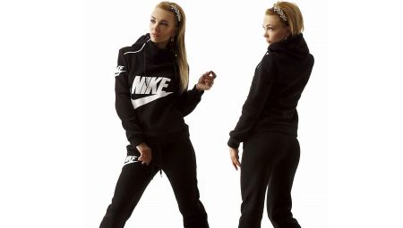 Спортивные костюмы Найк (72 фото)  модные женские модели и костюмы ... 363e297c86c