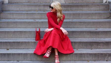 88f4236e940 Туфли к красному платью (55 фото)  какие колготки надеть