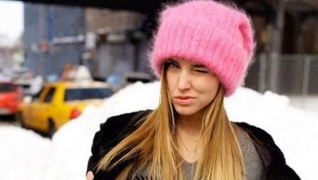 2083c089622 Молодежные шапки (123 фото)  вязаные и модные зимние шапки-ушанки ...