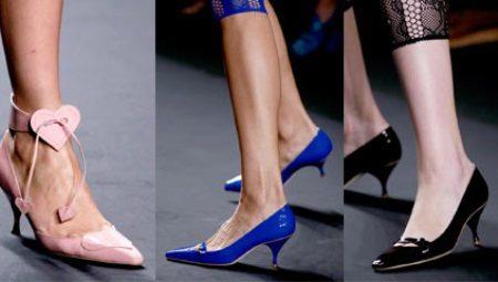 07e9dbeeb6f8 Женские туфли на низком каблуке (58 фото)  модели на маленьком ...