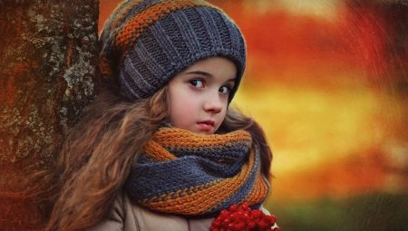 Детский шарф-снуд (хомут)