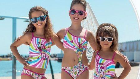 36550d6539c00 Детские купальники для бассейна для девочек (77 фото): модели для ...