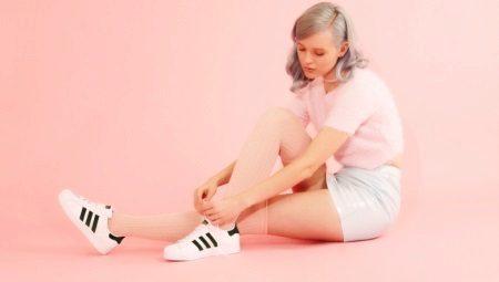 Кроссовки с полосками