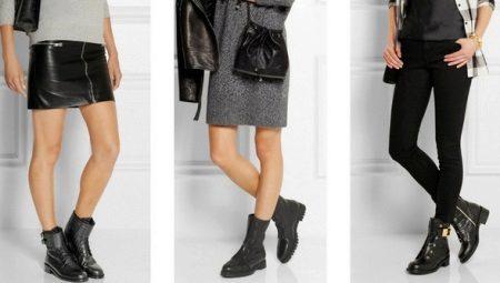 4072e27b Высокие ботинки (61 фото): женские черные и другие модели на ...