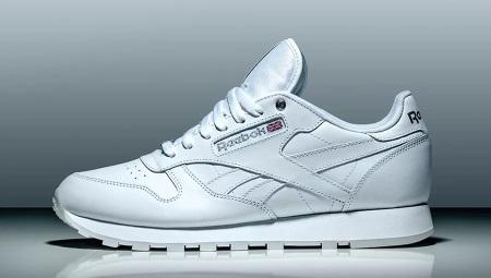 Женские белые кроссовки Reebok (40 фото)  кожаные оригинальные ... 742f54a3902