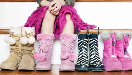 1ee4f3bdb Зимние сапоги для девочек (82 фото): кожаные для подростков на зиму ...