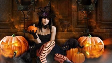 Наряды на хэллоуин  для девушек 45