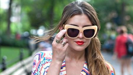 Модные женские солнцезащитные очки 2019 (100 фото)  тренды солнечных ... 213435d4bf8