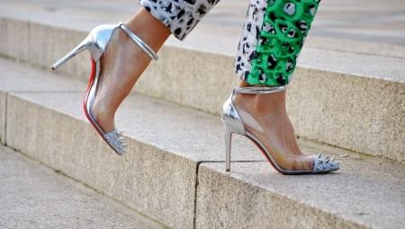 Прозрачные туфли