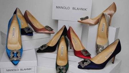 60597f76192a Туфли Manolo Blahnik (34 фото): популярные модели, свадебные ...