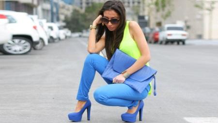 Туфли на высоком каблуке и на платформе