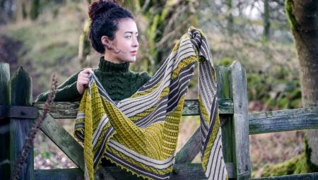 вязаные косынки 26 фото модные платки для женщин стильные