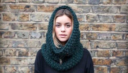 Женские зимние шарфы