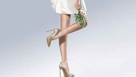 Атласные туфли