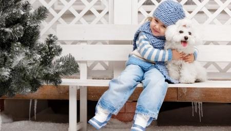 Детские зимние сапоги-дутики для девочки
