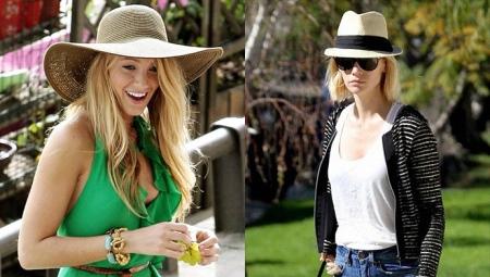 1ef4a539a3c0 Летние шляпы (62 фото): пляжные модели с большими полями для защиты ...