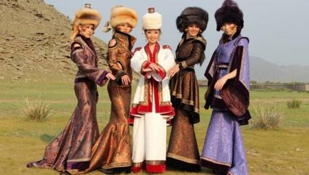 Национальный костюм бурятов