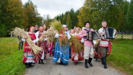 Национальный костюм карелов