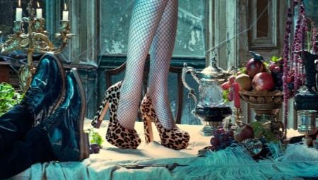 Туфли с принтом