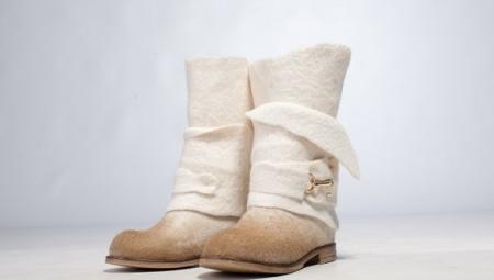 Женские сапоги-валенки (64 фото)  обувь для зимы, утепленные ... 8f8b1f9e988
