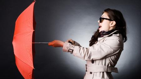 Легкие зонты