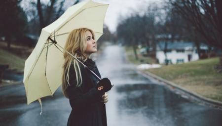 Маленький зонт