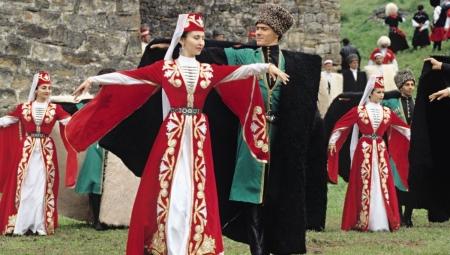 Национальный костюм осетин