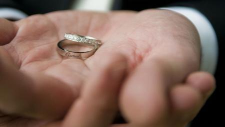 Cartier кольца обручальные