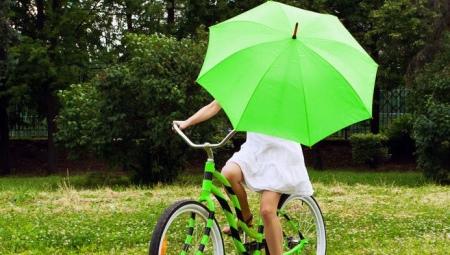 Зеленый зонт