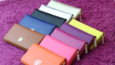 a76e5071e868 Женские маленькие кошельки (65 фото): кожаные мини-модели Malgrado