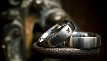 Кольца из титана