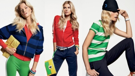 Спортивный стиль в одежде для девушек
