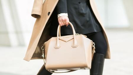 b1ff89c75172 Бежевая сумка (84 фото): чем носить женские лаковые модели и из ...