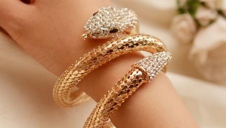 Браслет «змея»