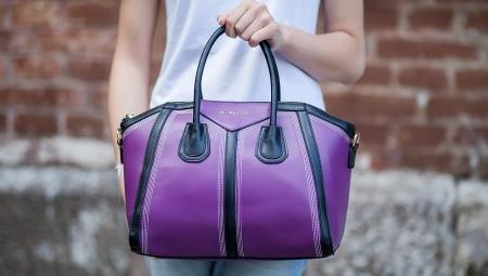 e22ab7472bc8 Фиолетовая сумка (46 фото): модели, с чем носить