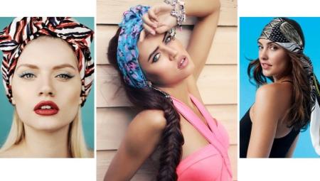 Как сделать повязку на голову своими руками?