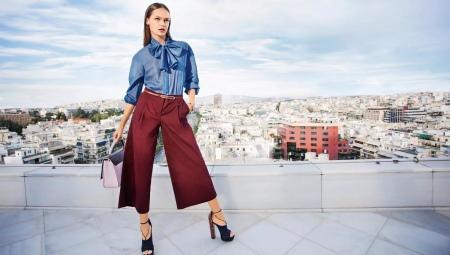 Как сшить юбку-брюки и какую выкройку взять за основу?