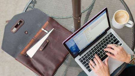 Кожаные сумки для ноутбука