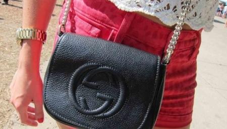 e593c64fc706 Женская кожаная сумка через плечо (70 фото): маленькие модели ...
