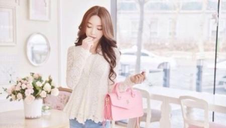 Розовая сумка