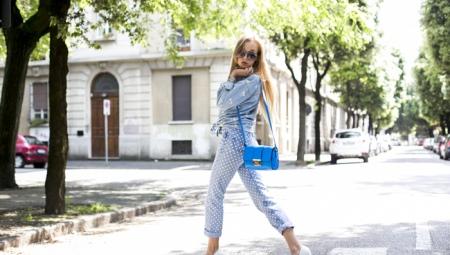 Синие сумки