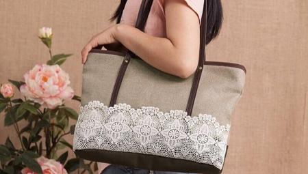 90125953bb4c Текстильные сумки (86 фото): женские стильные складные сумки из ...
