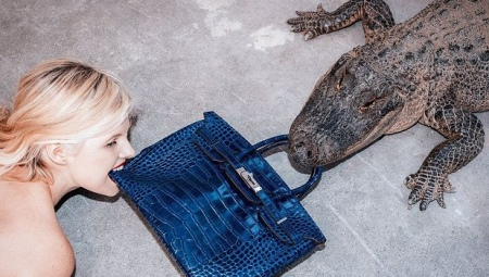 Женские сумки из крокодила