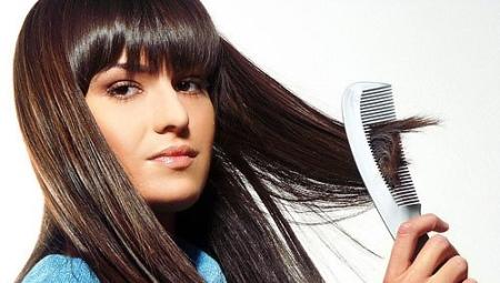Расческа для нарощенных волос